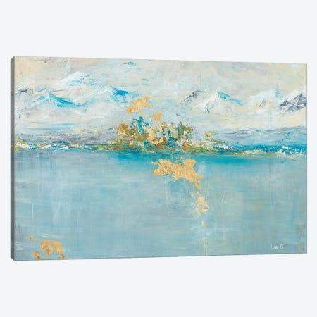 Misty Mountain Canvas Print #LBU16} by Lori Burke Canvas Art