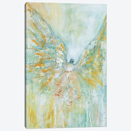Archangel Micheal Canvas Print #LBU1} by Lori Burke Canvas Print