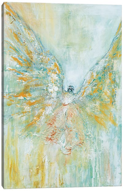Archangel Micheal Canvas Art Print