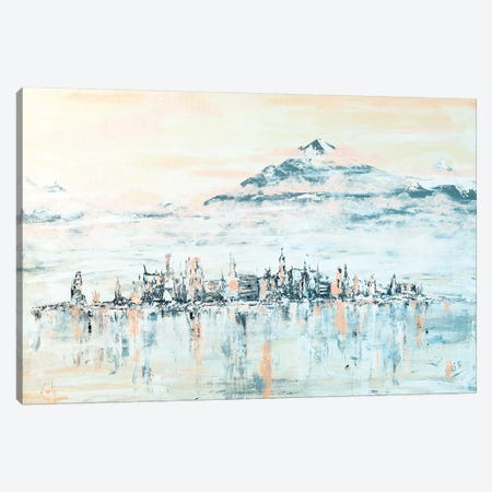 Pink Sky's Canvas Print #LBU20} by Lori Burke Canvas Art