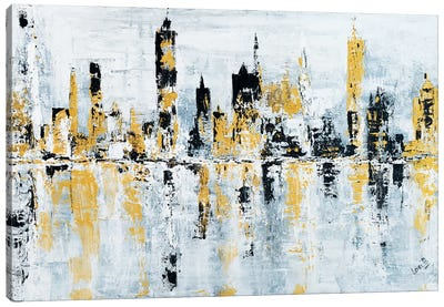 Shineytown Canvas Art Print
