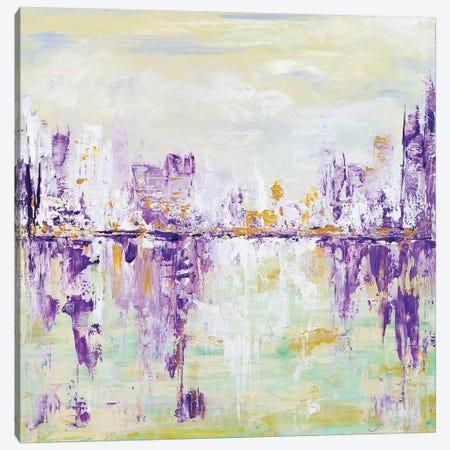 Soft Cityscape Canvas Print #LBU28} by Lori Burke Canvas Art