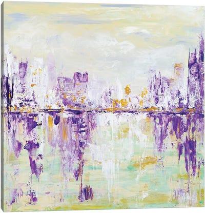 Soft Cityscape Canvas Art Print