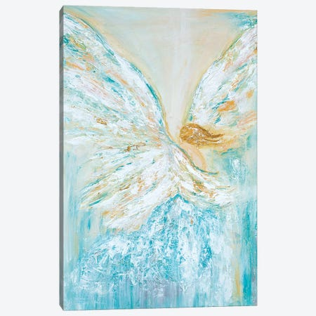 Archangel Raphael Canvas Print #LBU2} by Lori Burke Canvas Art Print