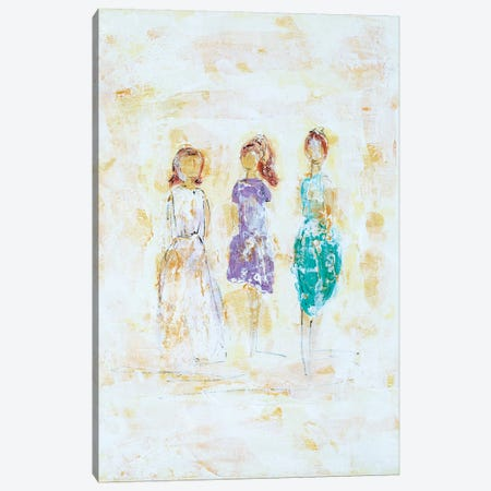 Soul Sisters Canvas Print #LBU30} by Lori Burke Canvas Art Print