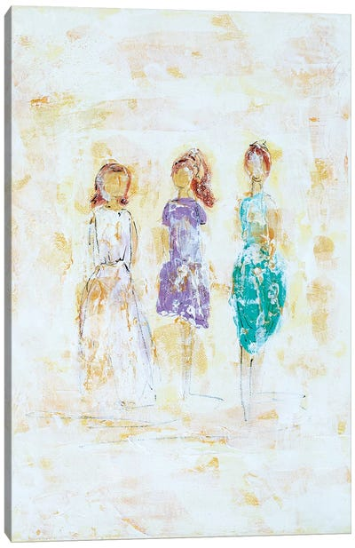Soul Sisters Canvas Art Print