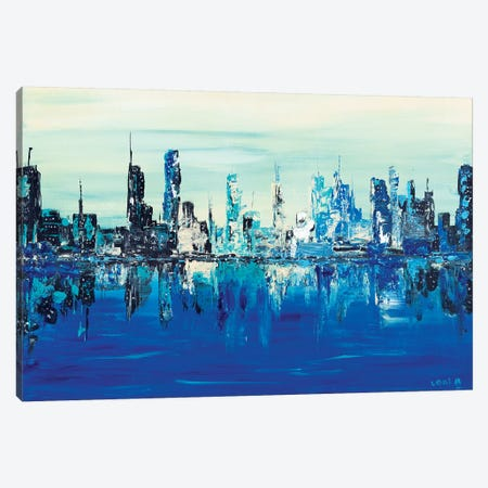 Summer Scape Canvas Print #LBU35} by Lori Burke Canvas Wall Art