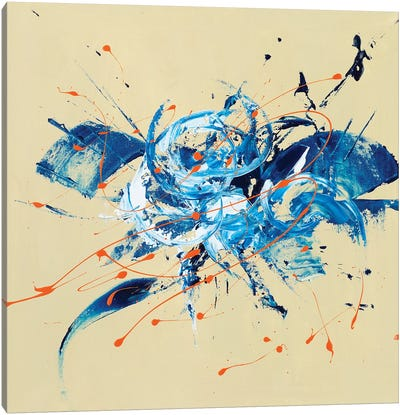 Time & Space Canvas Art Print