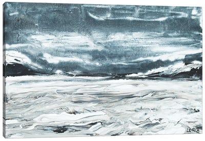 Unsettled Sky Canvas Art Print