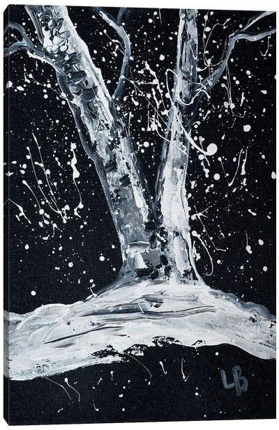 White Moments Canvas Art Print