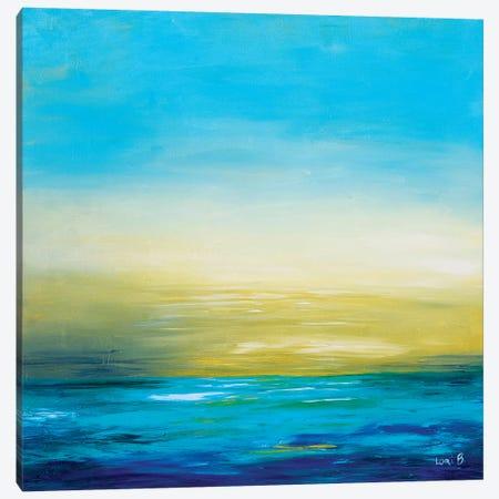 Calm Before The Storm Canvas Print #LBU4} by Lori Burke Canvas Artwork