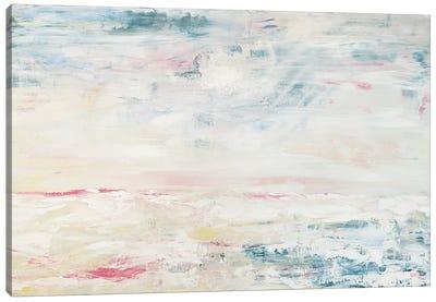 Calm Sounds Of The Sea Canvas Art Print
