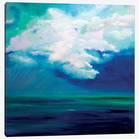 Caribbean Sky Canvas Print #LBU6} by Lori Burke Canvas Artwork