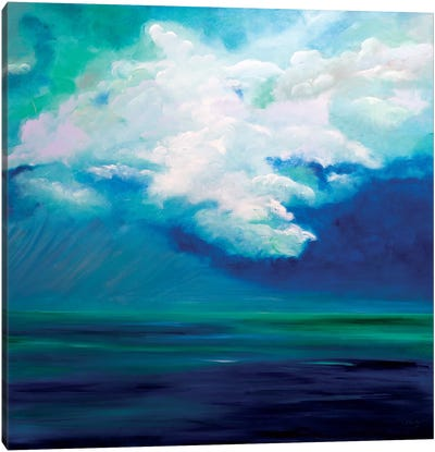 Caribbean Sky Canvas Art Print