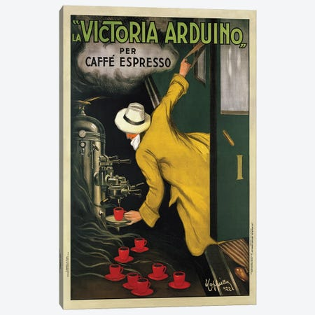 Victoria Arduino, 1922 Canvas Print #LCA11} by Leonetto Cappiello Canvas Wall Art