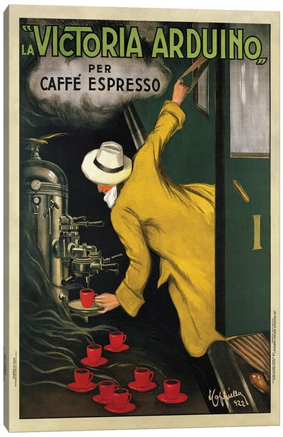 Victoria Arduino, 1922 Canvas Art Print