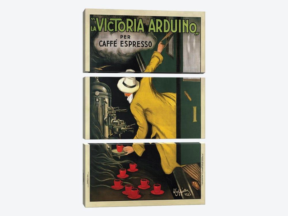 Victoria Arduino, 1922 by Leonetto Cappiello 3-piece Canvas Art Print