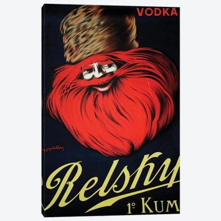 Belsky Vodka, 1910 Canvas Print #LCA13} by Leonetto Cappiello Canvas Artwork