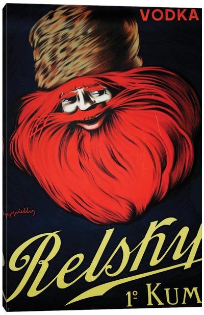 Belsky Vodka, 1910 Canvas Art Print