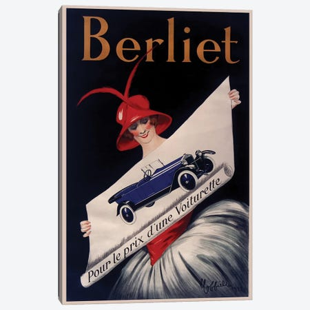 Berliet Canvas Print #LCA14} by Leonetto Cappiello Canvas Print