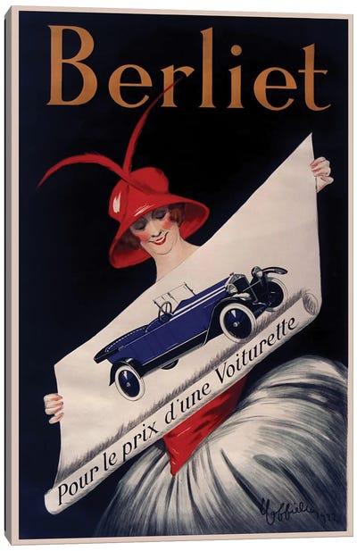 Berliet Canvas Art Print
