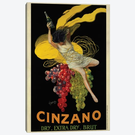 Cinzano, 1920 Canvas Print #LCA17} by Leonetto Cappiello Art Print