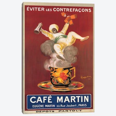 Cafe Martin, 1921 Canvas Print #LCA19} by Leonetto Cappiello Canvas Artwork