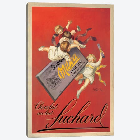Chocolat Suchard Canvas Print #LCA2} by Leonetto Cappiello Art Print