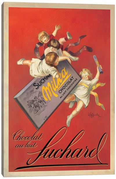 Chocolat Suchard Canvas Art Print