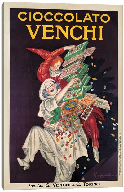 Cioccolato Venchi Canvas Art Print