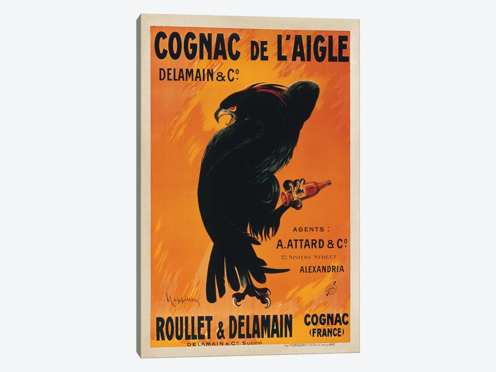 Cognac de l'Aigle by Leonetto Cappiello 1-piece Canvas Artwork