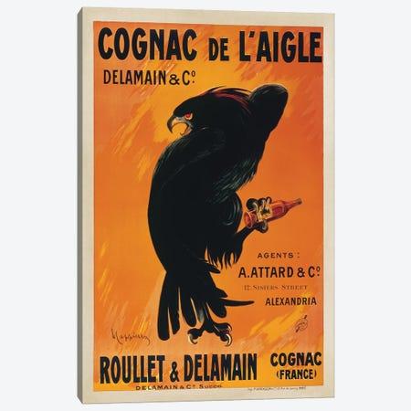 Cognac de l'Aigle Canvas Print #LCA5} by Leonetto Cappiello Canvas Wall Art