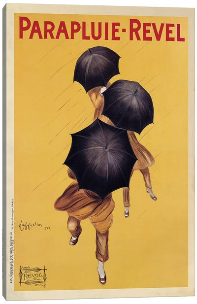 Parapluie-Revel, 1922 Canvas Art Print