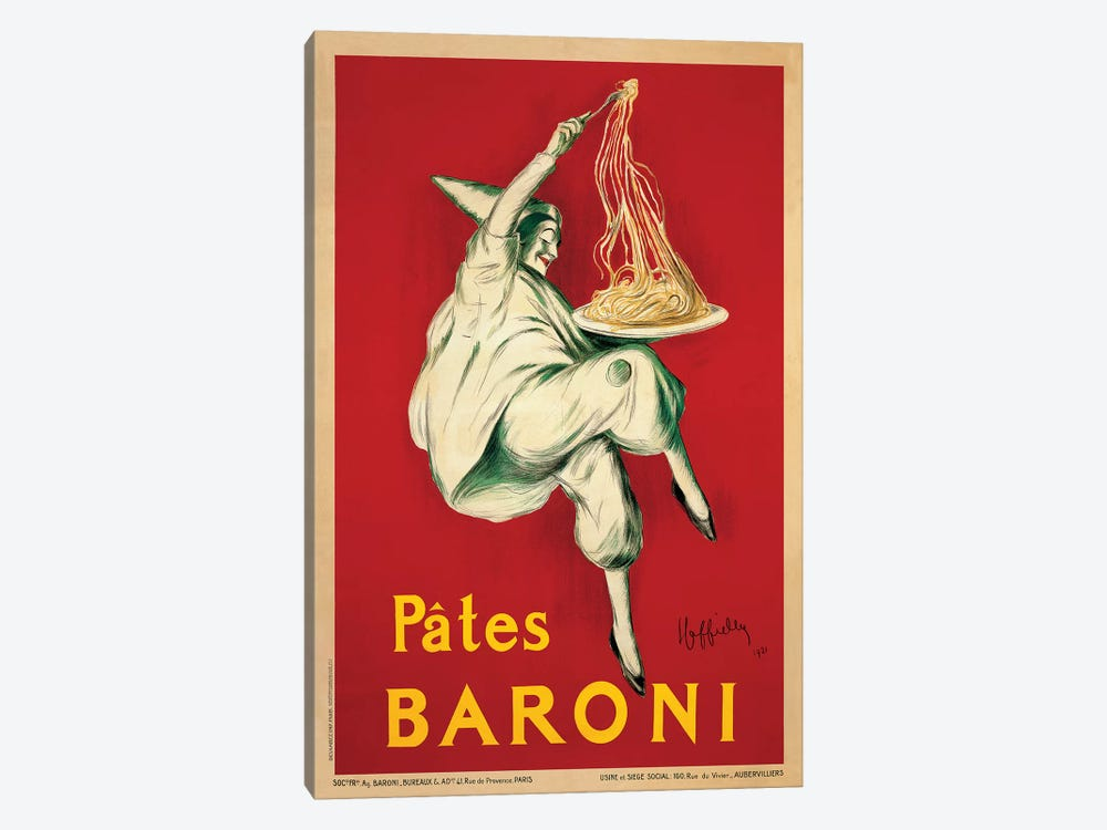 Pates Baroni, 1921 by Leonetto Cappiello 1-piece Canvas Wall Art