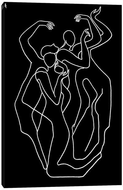 Pantomime Canvas Art Print
