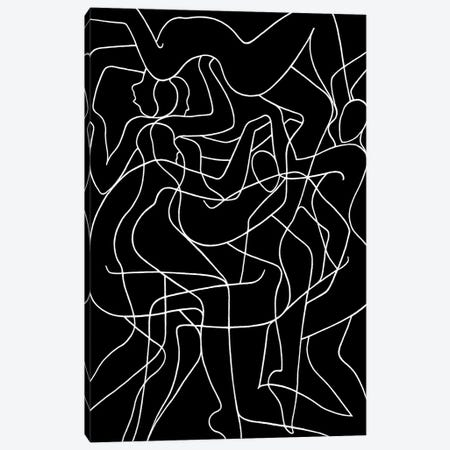Polyphonic Dance Canvas Print #LCH28} by Lia Chechelashvili Canvas Wall Art