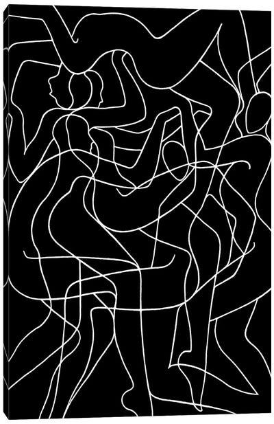 Polyphonic Dance Canvas Art Print