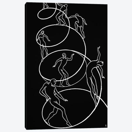Spiral Of Life Canvas Print #LCH32} by Lia Chechelashvili Art Print