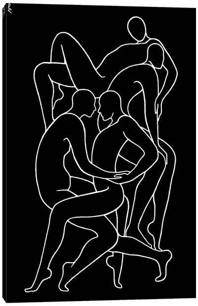 Synchronism Canvas Art Print