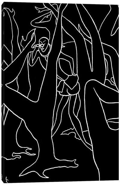 Spy Canvas Art Print