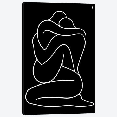 Lovers Canvas Print #LCH40} by Lia Chechelashvili Canvas Artwork