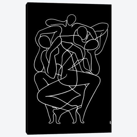 Whimsical Dance Canvas Print #LCH42} by Lia Chechelashvili Canvas Wall Art