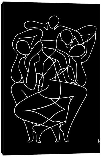 Whimsical Dance Canvas Art Print