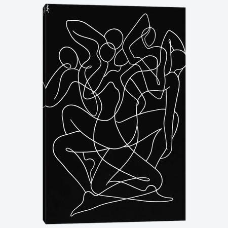 Lotus Canvas Print #LCH48} by Lia Chechelashvili Canvas Art