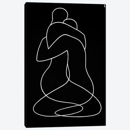 Embrace Canvas Print #LCH6} by Lia Chechelashvili Canvas Print