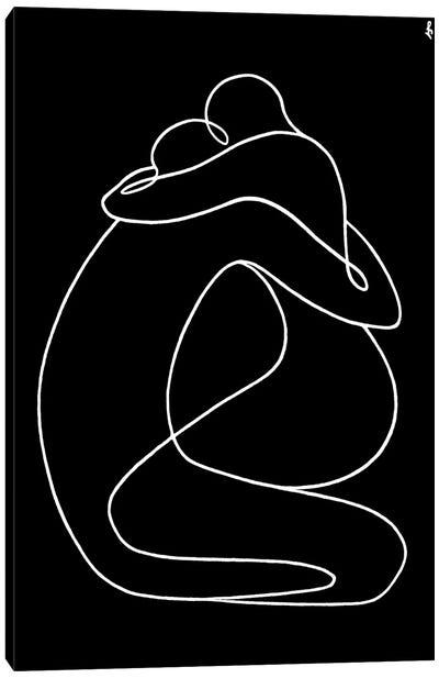 Formula Of Love Canvas Art Print
