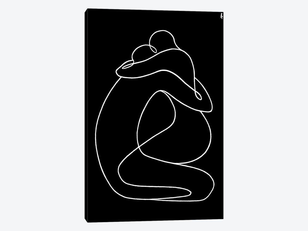 Formula Of Love by Lia Chechelashvili 1-piece Canvas Art Print