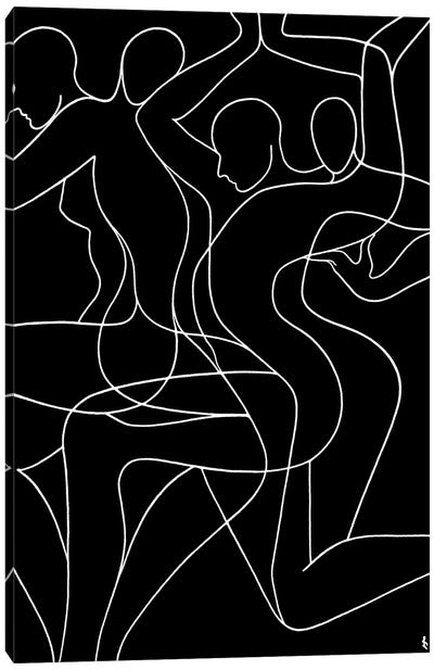 Free Dance Canvas Art Print