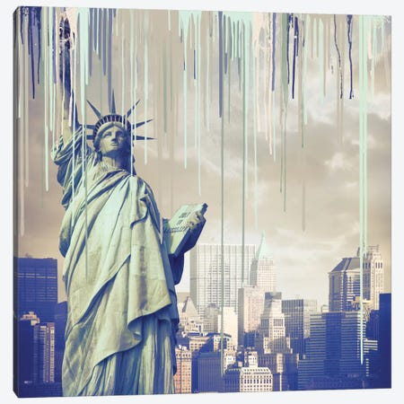 She Is Freedom Canvas Print #LCL16} by 5by5collective Canvas Art