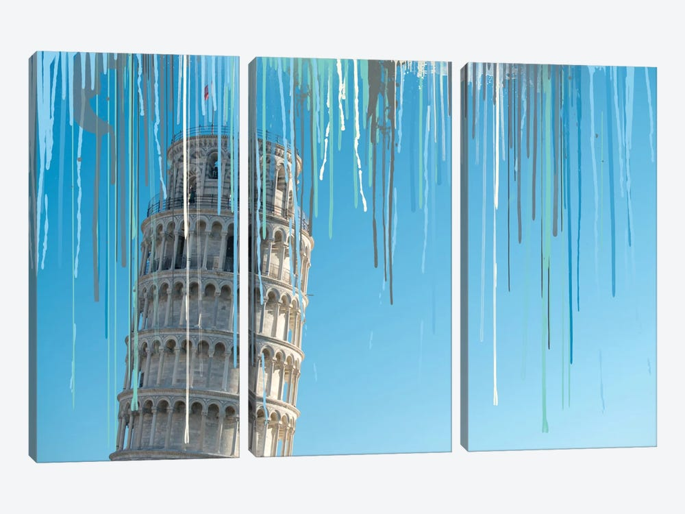 Shift Your Perspective by 5by5collective 3-piece Canvas Wall Art